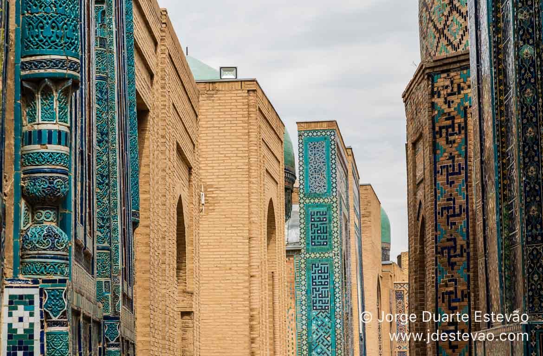 Complexo Shah-i-Zinda, Samarcanda, Uzbequistão