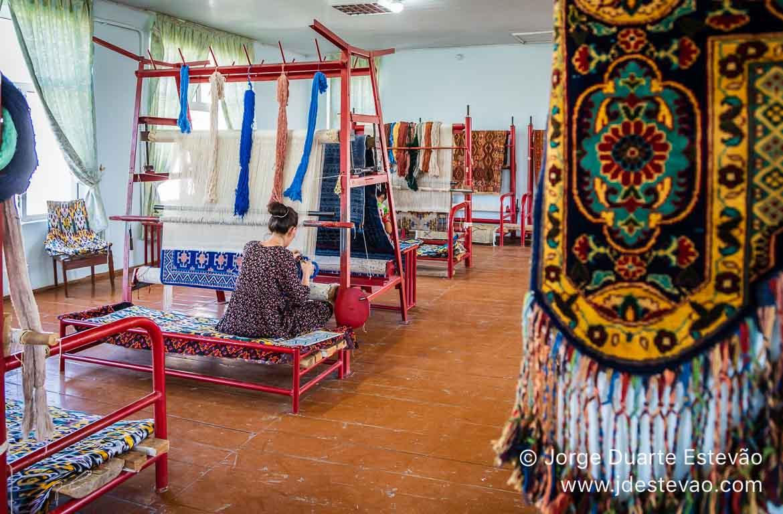 Fábrica de Seda de Samarcanda, Uzbequistão