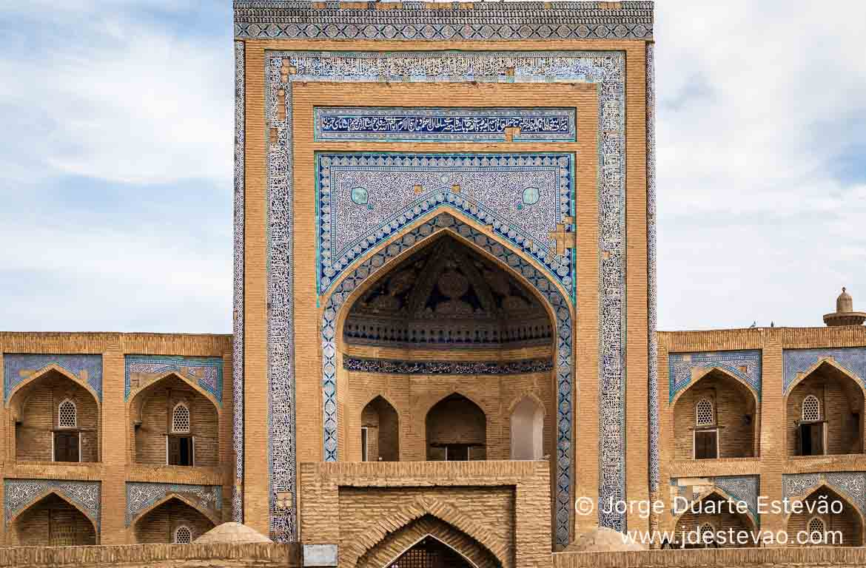 Madrassa Allakuli Khan, Khiva, Uzbequistão