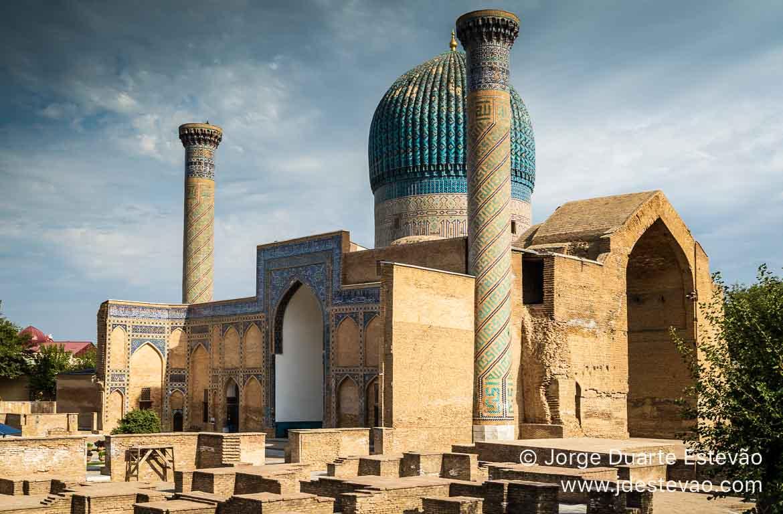 Mausoléu de Gur-Emir, Samarcanda, Uzbequistão