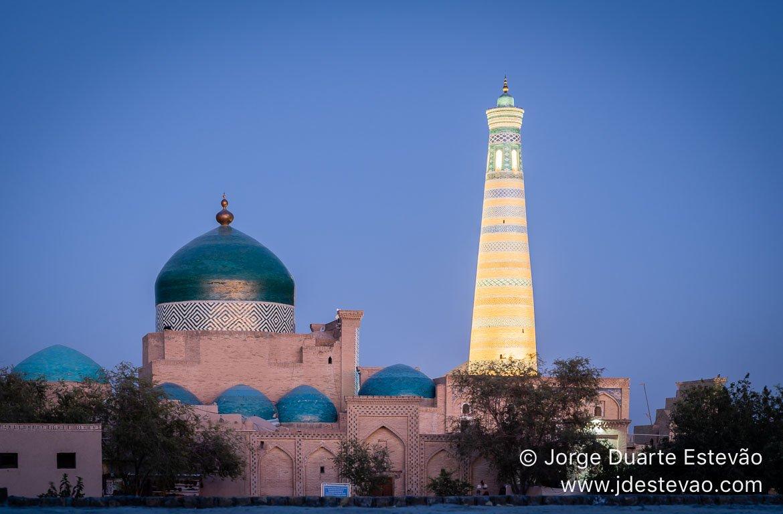 Minarete de Islam Khoja, Khiva, Uzbequistão