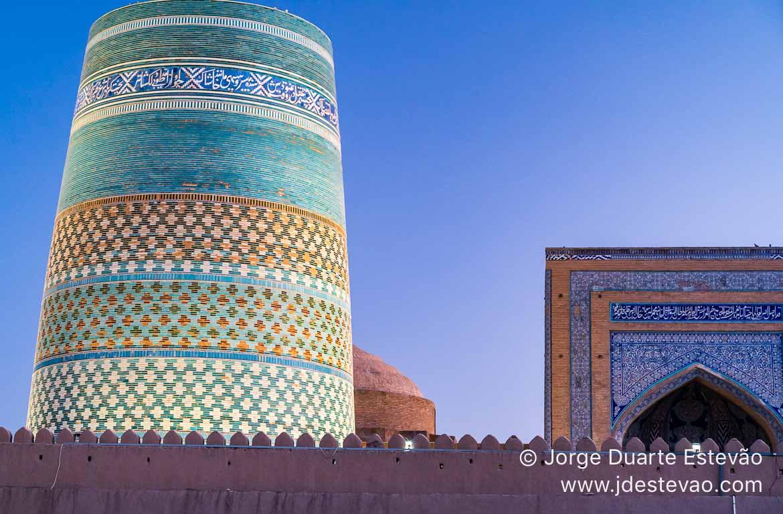 Minarete de Kalta, Khiva, Uzbequistão