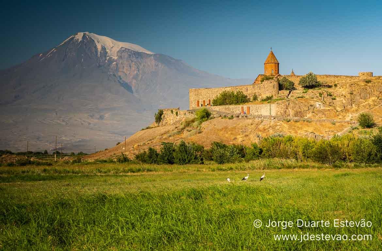 Mosteiro de Khor Virap e Monte Ararat, Arménia