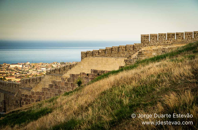 Fortaleza de Naryn-Kala, Derbent, Daguestão. Rússia