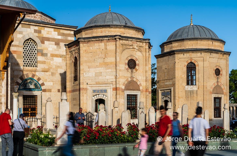 Museu Mevlana, Konya. Turquia