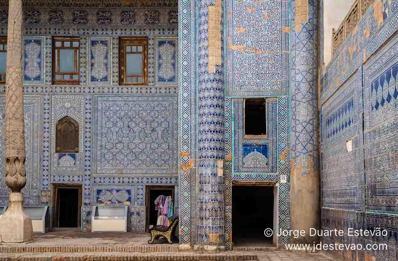 Palácio Tosh-Hovli, Khiva, Uzbequistão