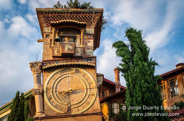 Torre do Relógio, em Tbilisi, Geórgia