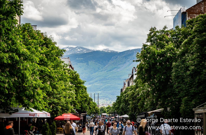 Avenida Vitosha, Sófia, Bulgária