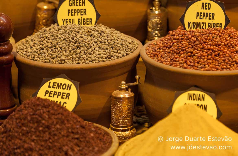 Bazar Egípcio ou Bazar das Especiarias, em Istambul
