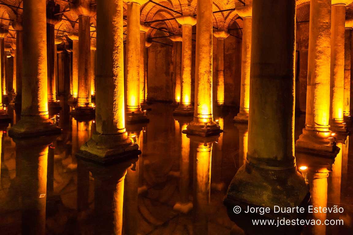 Cisterna da Basílica ,Istambul, Turquia