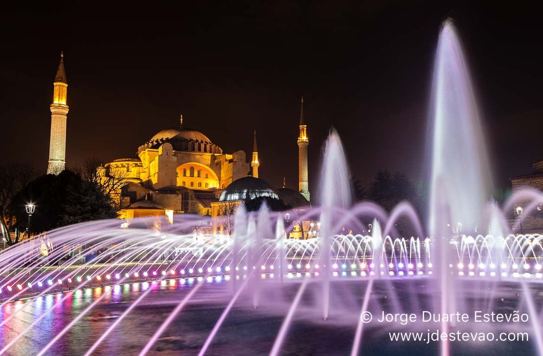 Santa Sofia Hagia Sofia em Istambul, Turquia