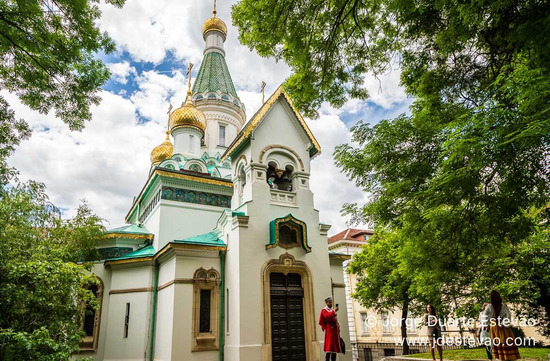 Igreja Russa, Sófia, Bulgária