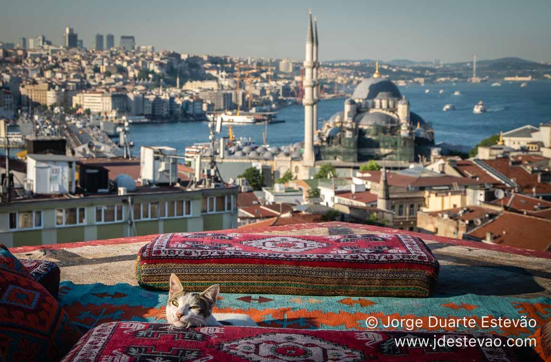 Vista panorâmica Istambul, Turquia