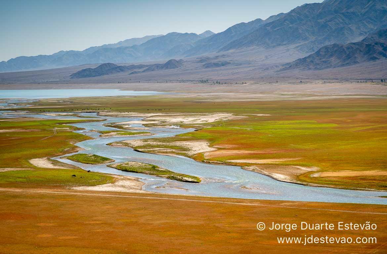 Rio no Quirguistão, Ásia Central
