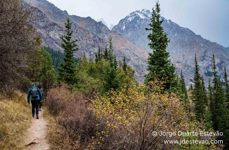 Trilhos de caminhada Parque Nacional Ala Archa Quirguistão, Ás