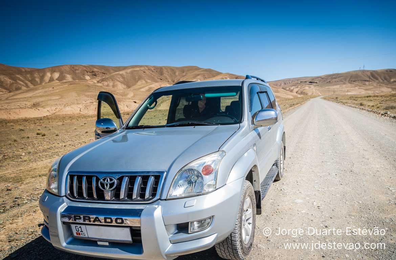 Veículo 4x4 Quirguistão, Ásia Central
