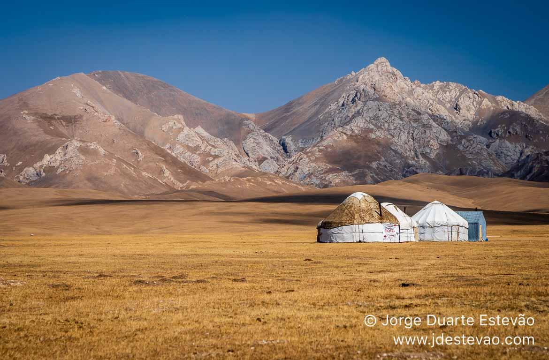 Yurt Song-Kul Quirguistão, Ásia Central