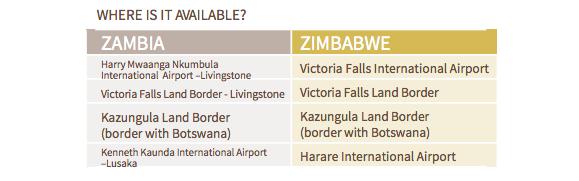 visto KAZA-zambia-zimbabue