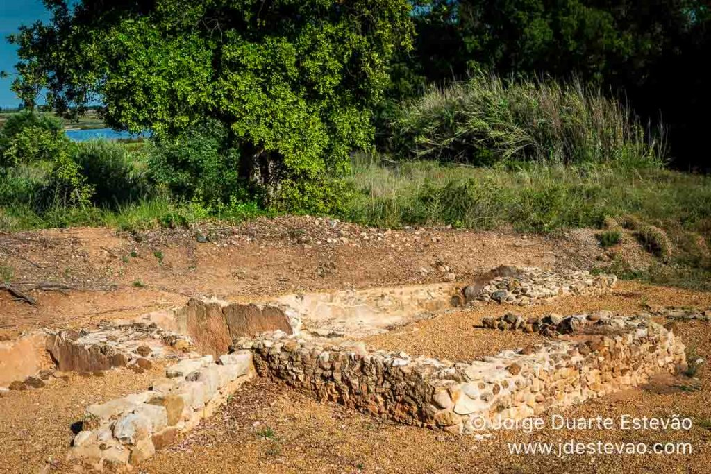 Tanques romanos de salga de peixe, Quinta do Lago, Algarve