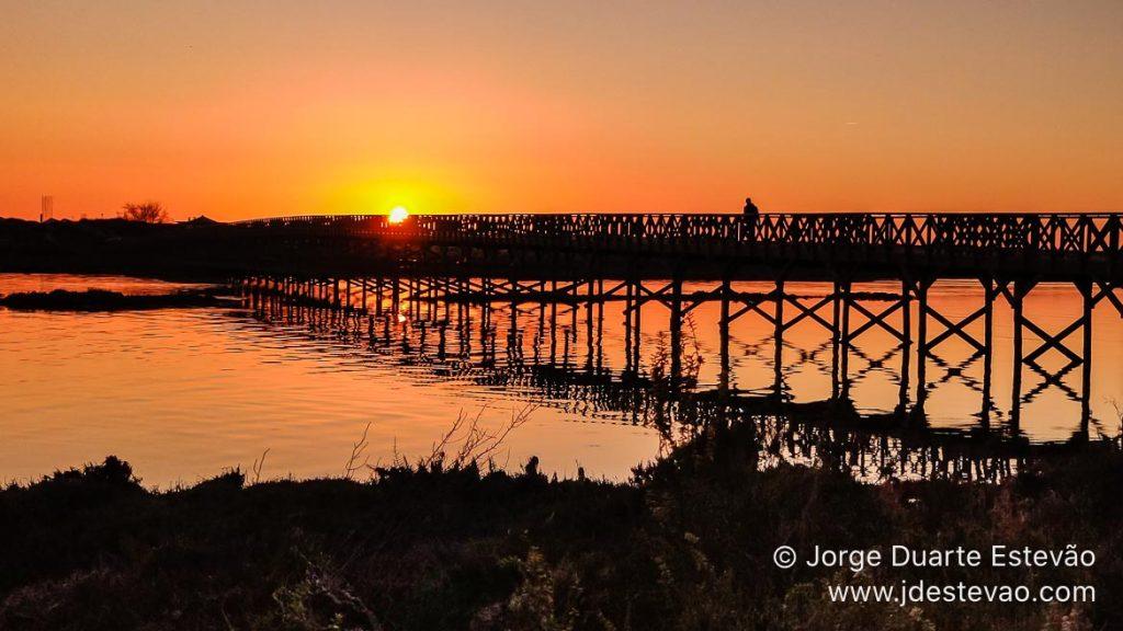 pôr-do-sol, Praia da Quinta do Lago