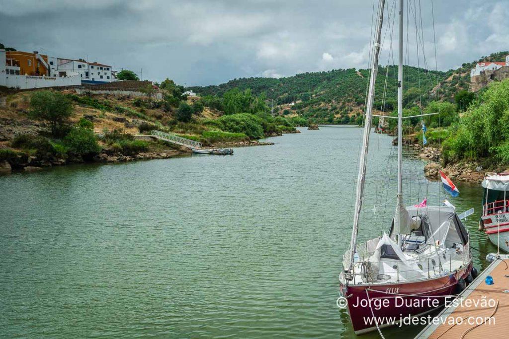 Barcos no Rio Guadiana, Mértola