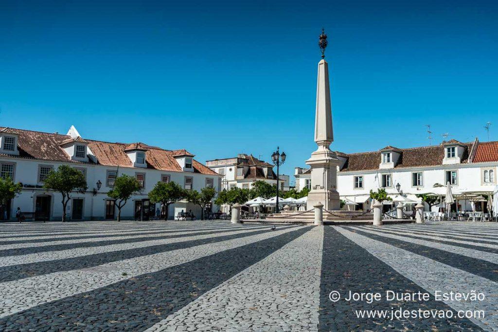 Praça da República em Vila Real de Santo António