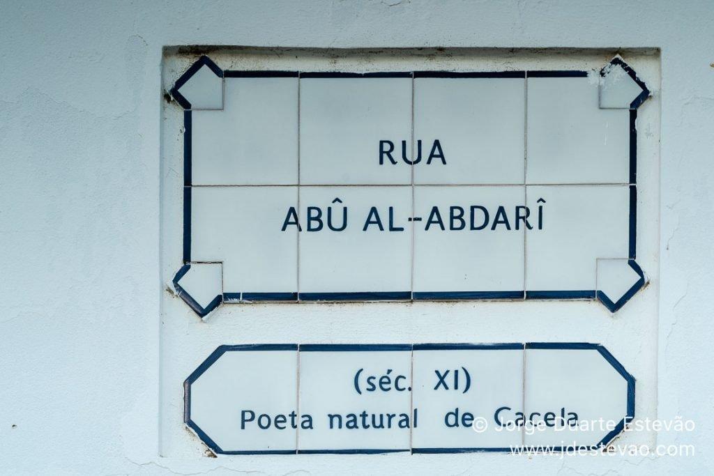 Rua Abu Al-Abdari, Cacela Velha