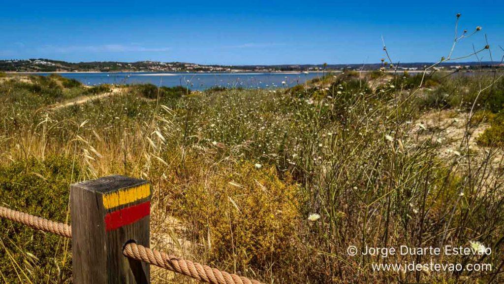 Sinalização nos Passadiços de Alvor, Portimão