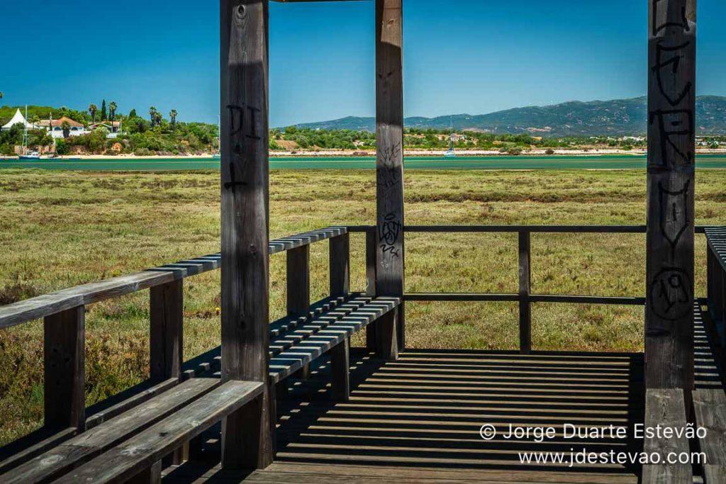 Zona de descanso, Passadiços de Alvor, Portimão