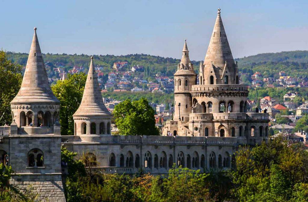 Bastião dos Pescadores Budapeste, Hungria