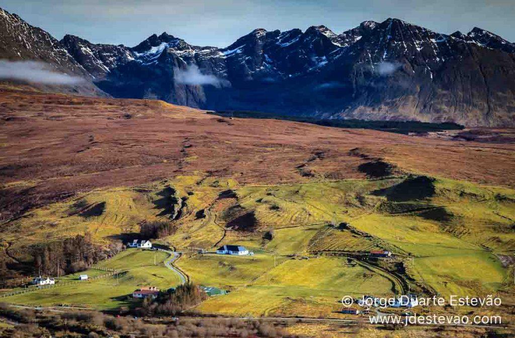 Black Cuillin, Loch Harport, Skye,