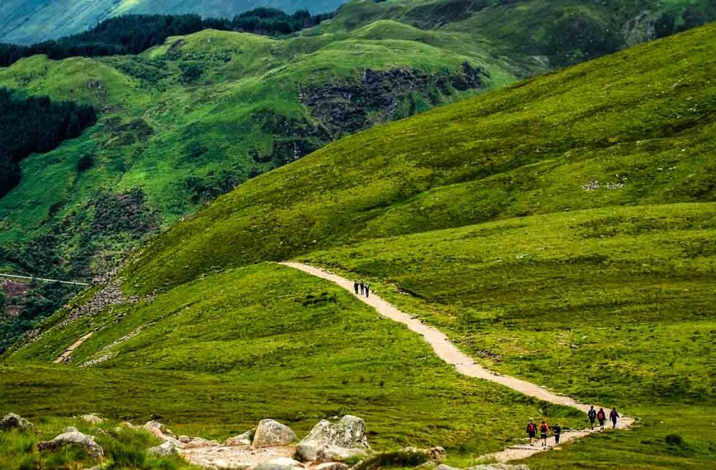 Caminhada para o Ben Nevis