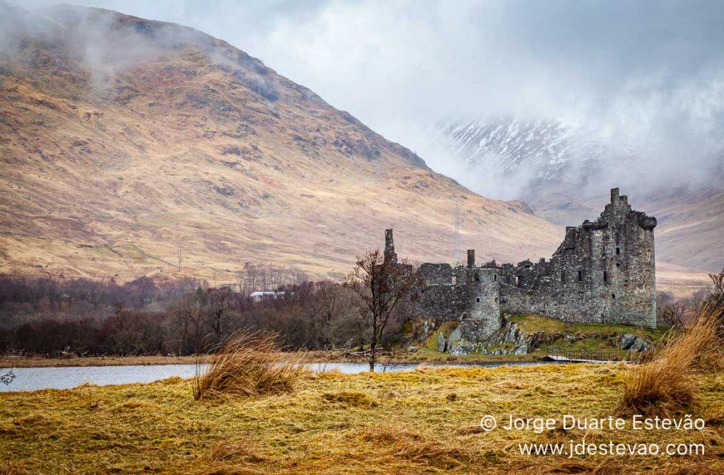 Castelo de Kilchurn, Loch Awe, Terras Altas, Escócia