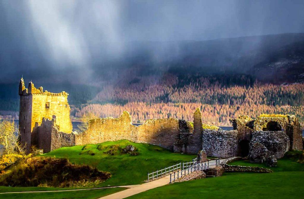 Castelo de Urquhart, Inverness, Terras Altas da Escócia