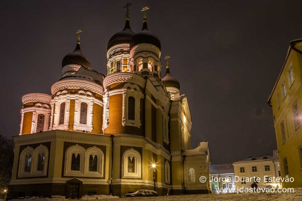 Catedral de S. Alexandre Nevsky, Tallinn, Estónia