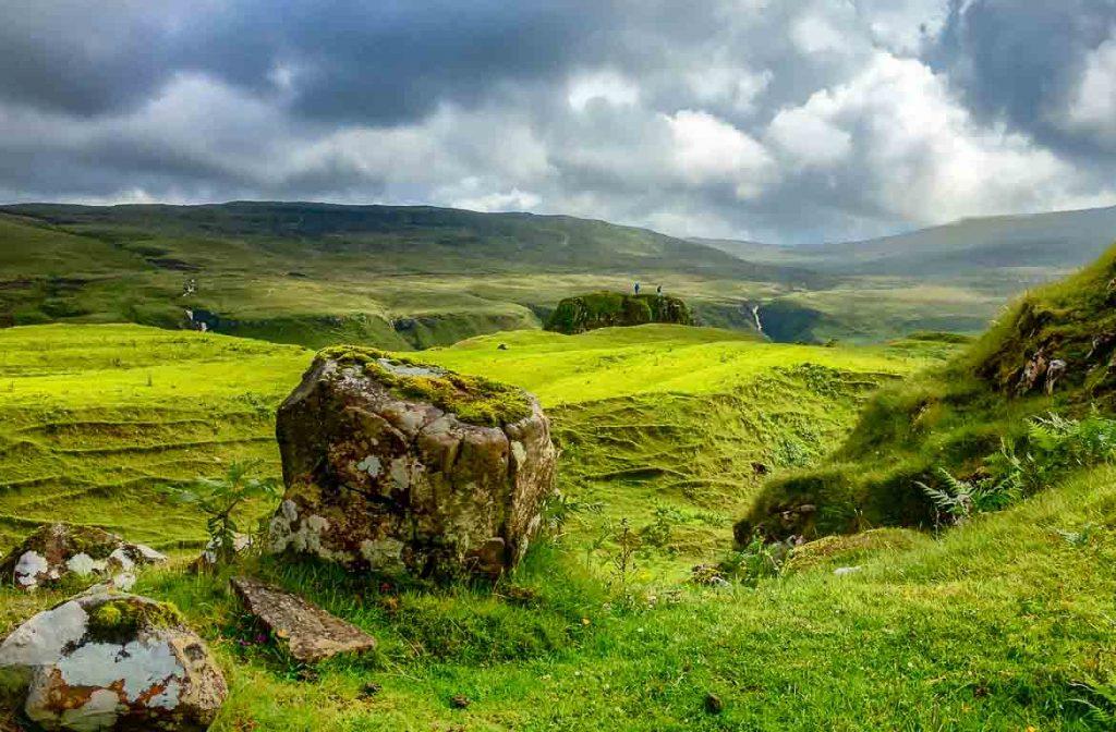 Fairy Glen, Ilha de Skye, Escócia