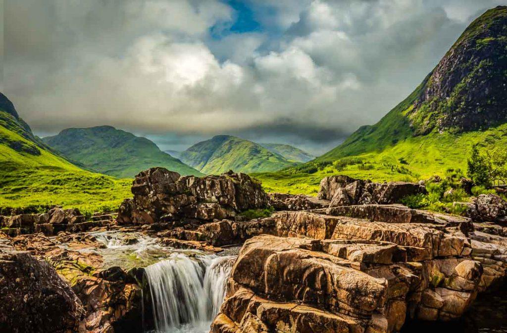 Glen Etive, Terras Altas da Escócia