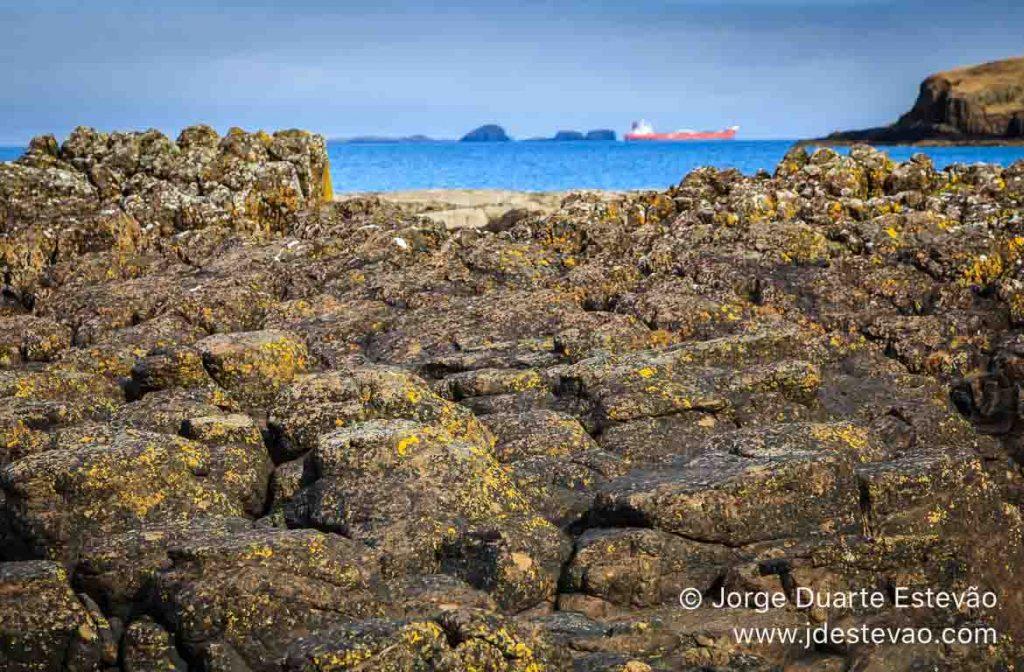 Cargueiro na Ilha de Skye, Escócia