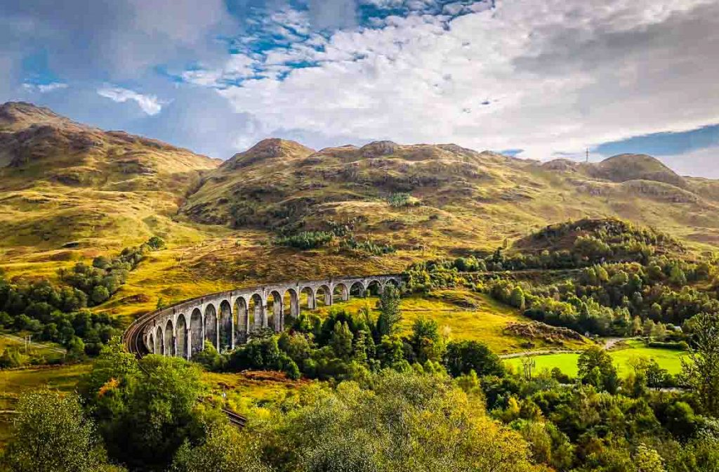 Jacobite, Viaduto de Glenfinnan, Escócia