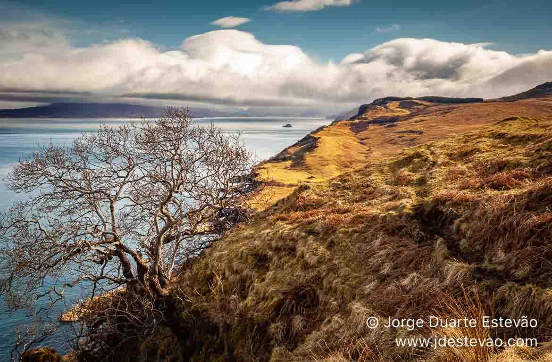 Lago, Ilha de Skye, Escócia
