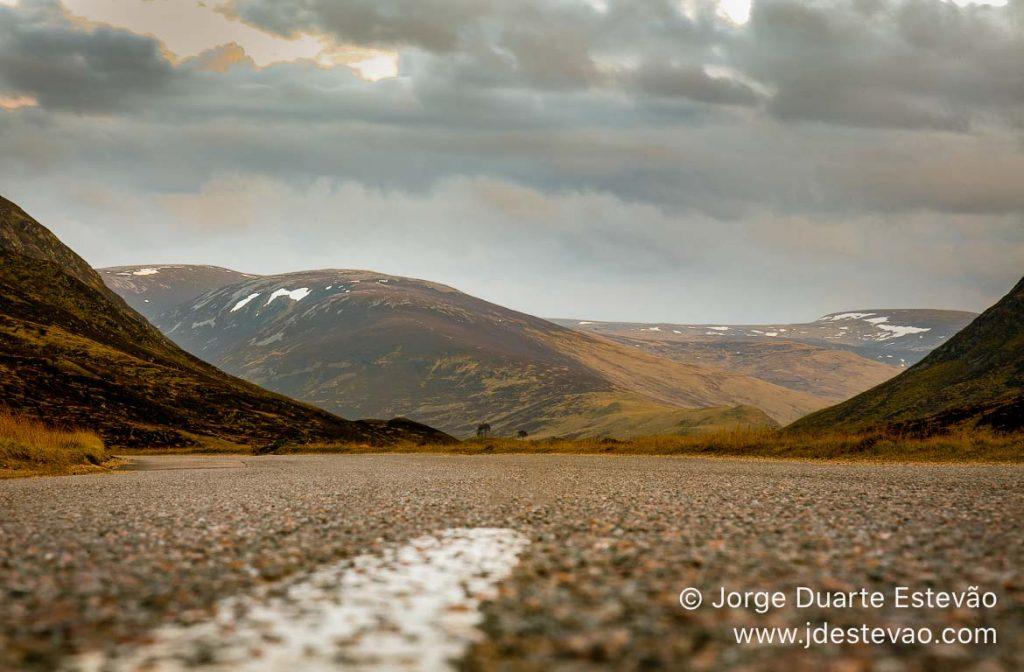 O Parque Nacional de Cairngorms, Escócia