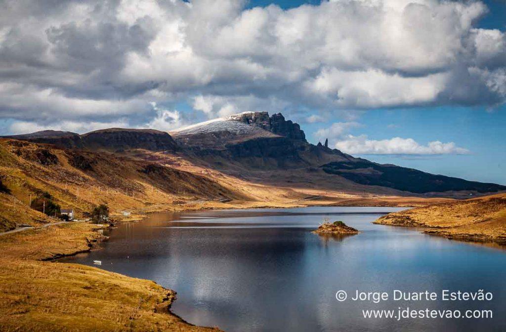 Old Man of Storr, Ilha de Skye, Escócia