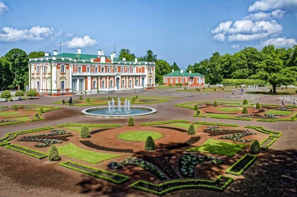 Palácio Kadriorg, Tallinn, Estónia