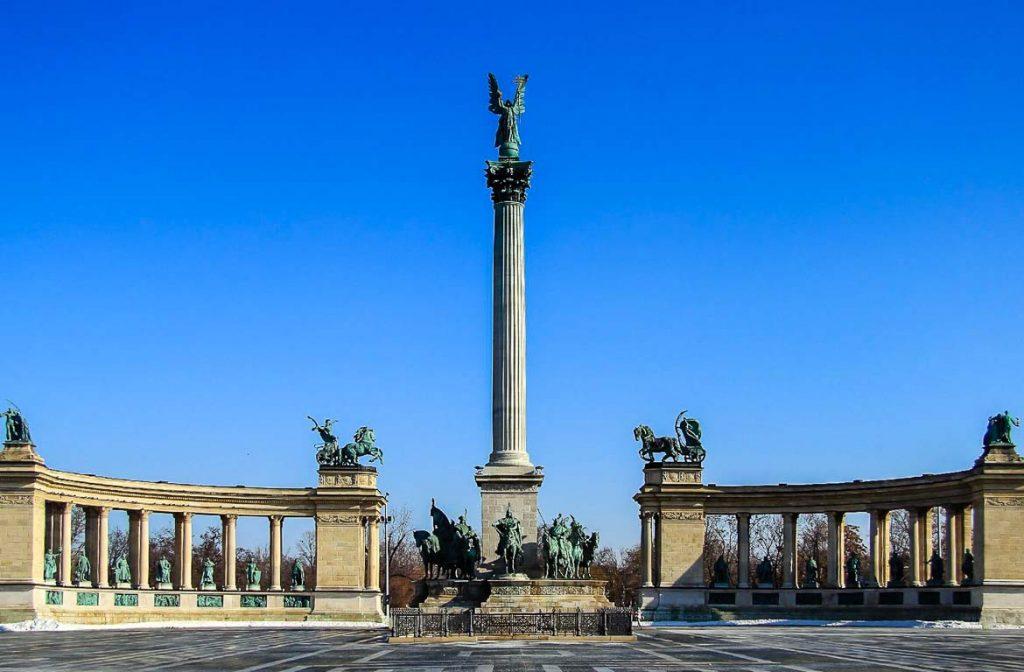 Praça dos Heróis, Budapeste, Hungria