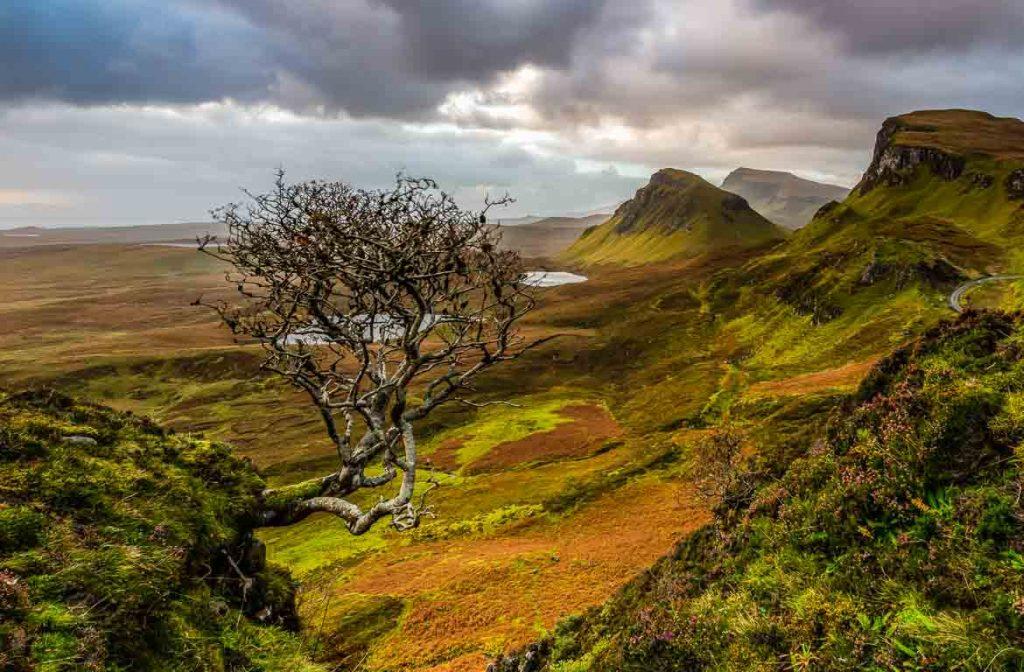 Quiraing, Ilha de Skye, Escócia