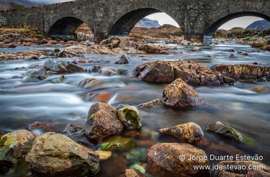 Sligachan Old Bridge, Ilha de Skye, Escócia