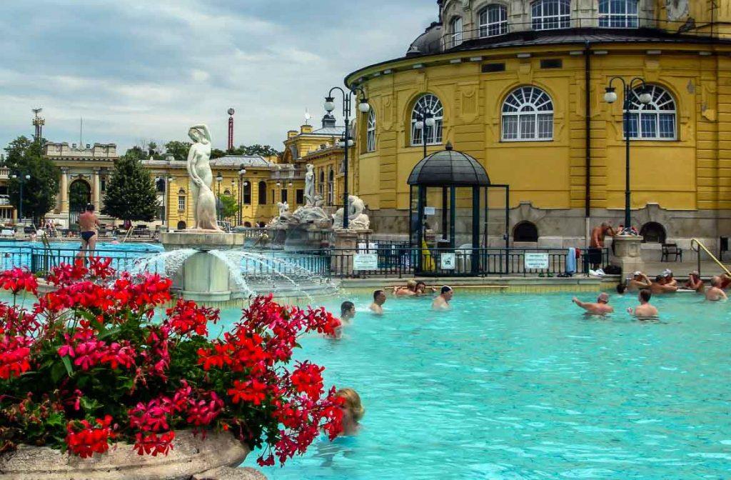 Termas em Budapeste