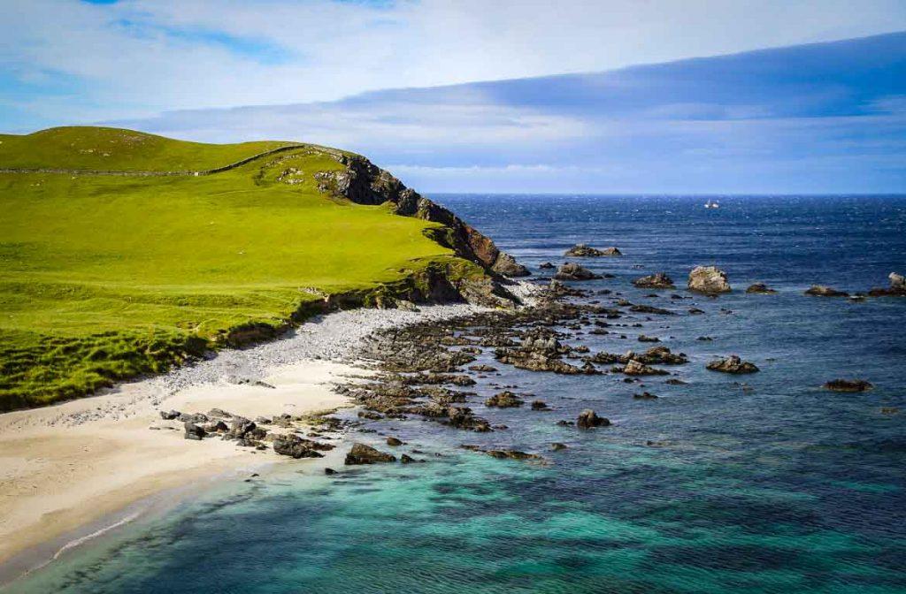 Praias das Terras Altas da Escócia