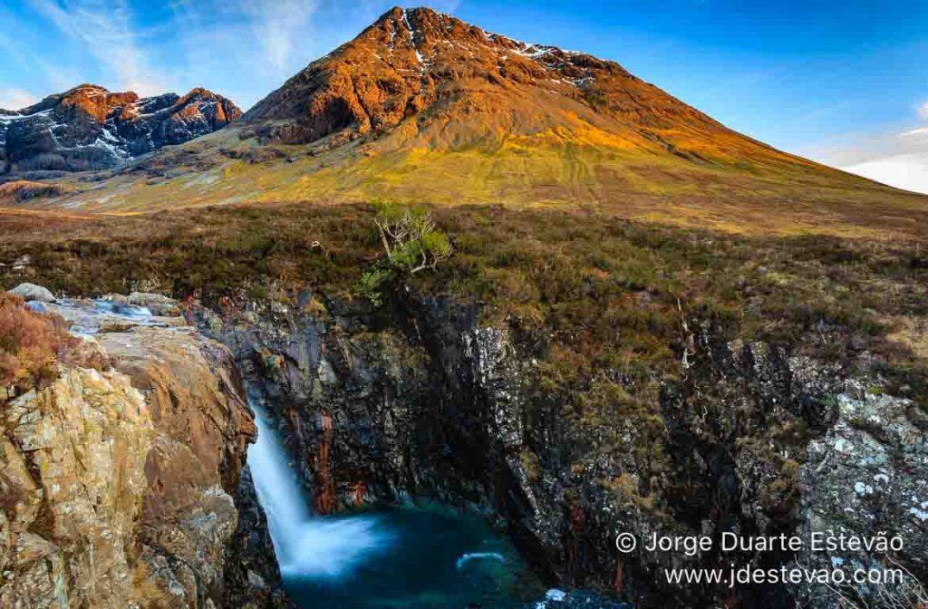 Cuillins Negros Fairy Pools, Isle de Skye, Escócia