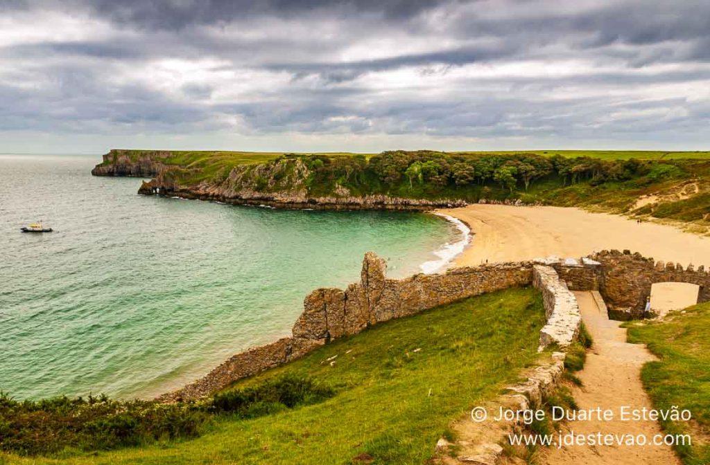 Barafundle Bay, País de Gales